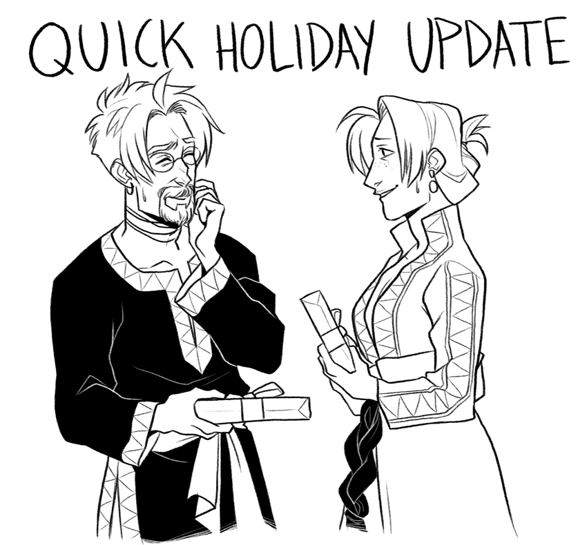 Quick Holiday Update